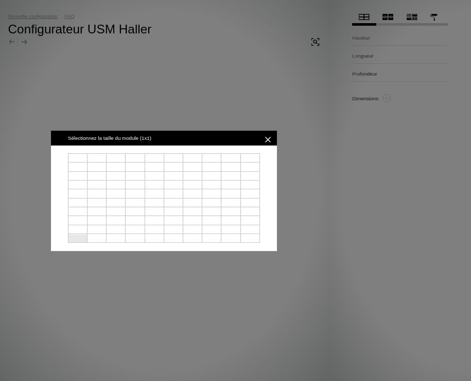Configurateur USM