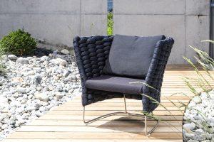 AMI fauteuil d'extérieur par Paola Lenti