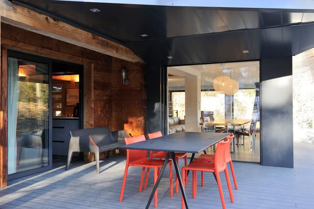 Architecture d'intérieur - Chalet à Chamonix
