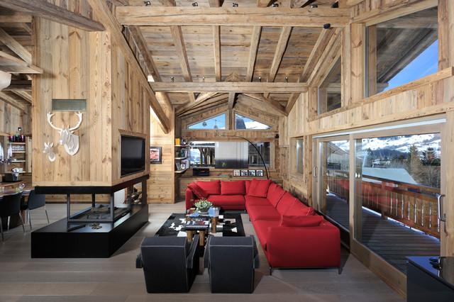 Architecture d'intérieur - Chalet à Megève