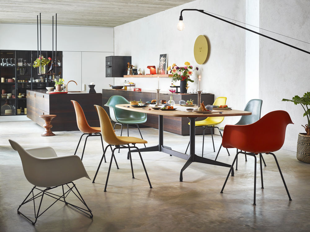 Eames Tables Dining & Chairs